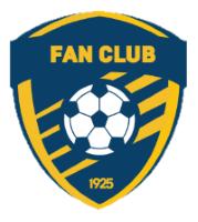 Емблема FAN CLUB 1925
